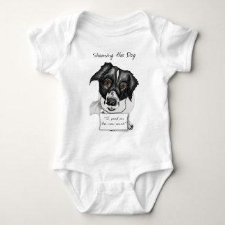 Shaming the Dog Mutt Baby Bodysuit