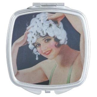 Shampoo Girl Vanity Mirrors