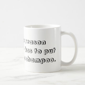 Shampoo mug