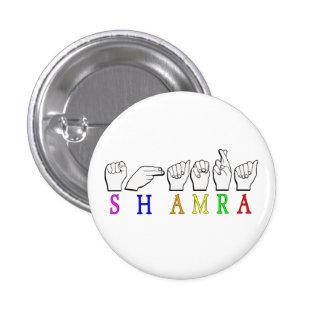 SHAMRA 1 INCH ROUND BUTTON