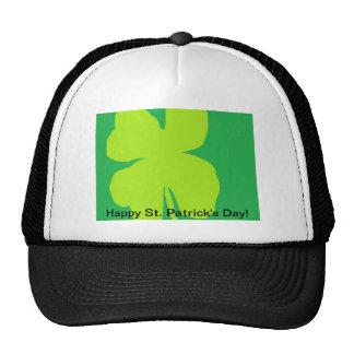 Shamrock 11 Happy St Patrick s Day Trucker Hats