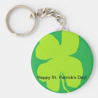 Shamrock '11, Happy St. Patrick's Day! Key Chains