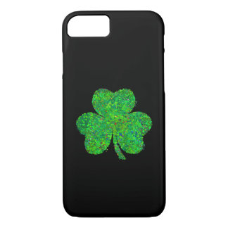 Shamrock Action Painting Art iPhone 8/7 Case