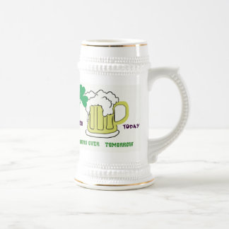 Shamrock, and Mog of Beer Stien Beer Stein