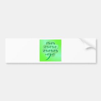Shamrock Bumper Sticker