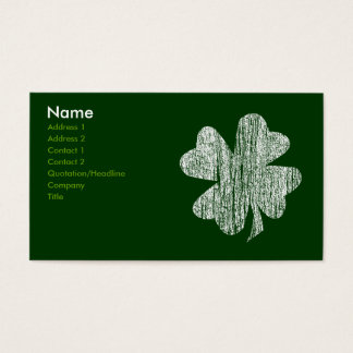 Shamrock Business Cards
