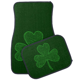 Shamrock Car Mat