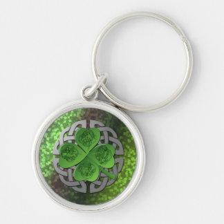 Shamrock – Celtic Knot – 4 Evangelists Keychain