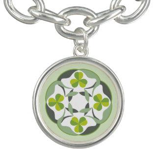 Shamrock Celtic Knot Inspired St. Patrick's Day Bracelet