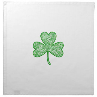 Shamrock (Center Fold) Napkin