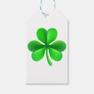 Shamrock Clover Leaf Gift Tags