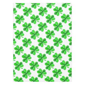 Shamrock Clover Leaf Tablecloth