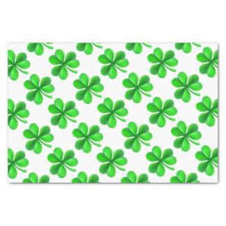 Shamrock Clover Leaf Tissue Paper