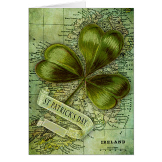 Shamrock for Ireland Greeting Card