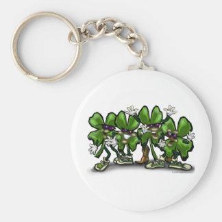 Shamrock Gang Keychain