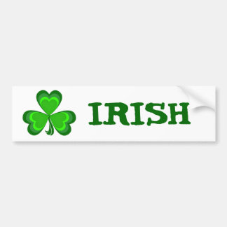 Shamrock Glory Bumper Sticker
