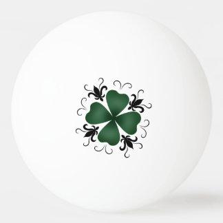 Shamrock gothique et Jour de la Saint Patrick de Balle De Ping Pong