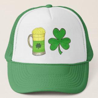 Shamrock Green Beer Mug Saint Patrick's Day Hat