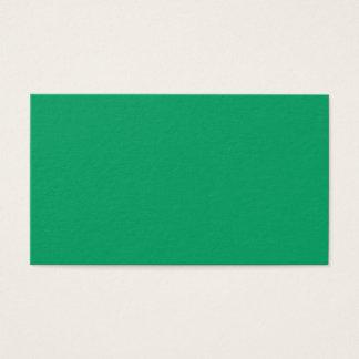 Shamrock Green Business Card