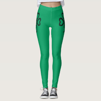 Shamrock Green Fitness Fashion Leggings