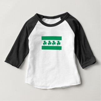 Shamrock Green River Baby T-Shirt