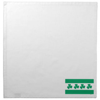 Shamrock Green River Napkin