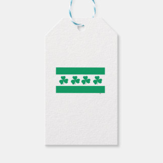 Shamrock Green River Pack Of Gift Tags