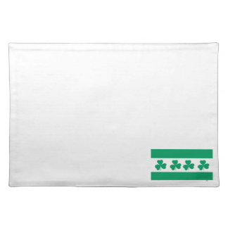 Shamrock Green River Placemat