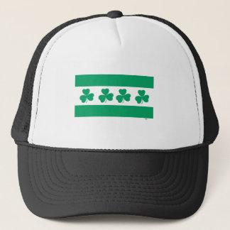 Shamrock Green River Trucker Hat