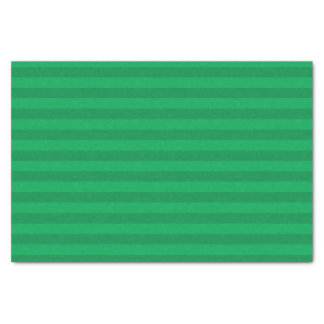 Shamrock Green Stripes Tissue Paper