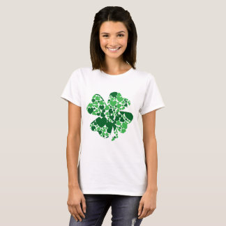 Shamrock Heart Women's Basic T-Shirt