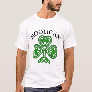 Shamrock Hooligan Funny St. Patrick's Day T-Shirt