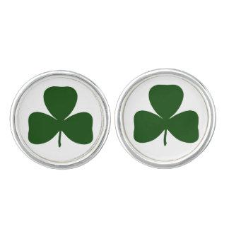 Shamrock, Ireland Irish Clover, St Patricks Day Cufflinks