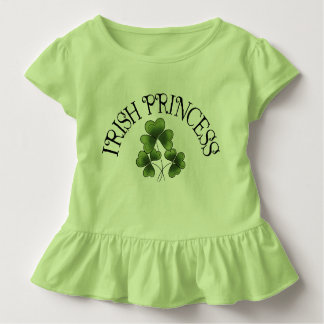 Shamrock Irish Princess Toddler T-shirt