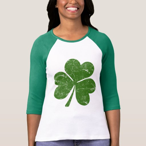 Shamrock irlandais classique t-shirts