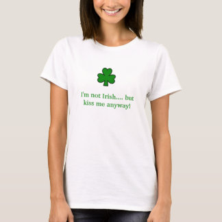 shamrock, je ne suis pas irlandais…. mais t-shirt