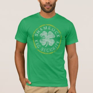 Shamrock Keg Security t shirt