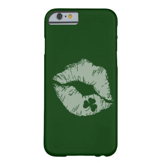 Shamrock Kisses iPhone 6 case Barely There iPhone 6 Case