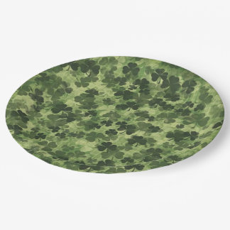 Shamrock Meadow 1 9 Inch Paper Plate