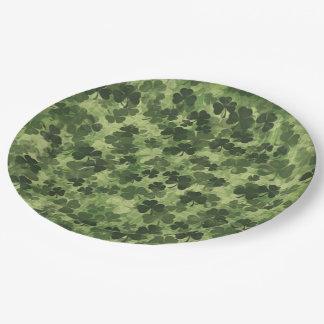 Shamrock Meadow 1 Paper Plate