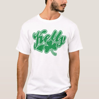 Shamrock mignon d'Irlandais de Kelly T-shirt