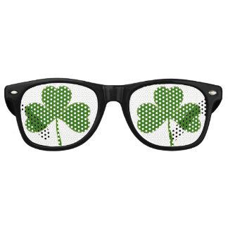 Shamrock (Not 4 Leaf Clover) Retro Sunglasses