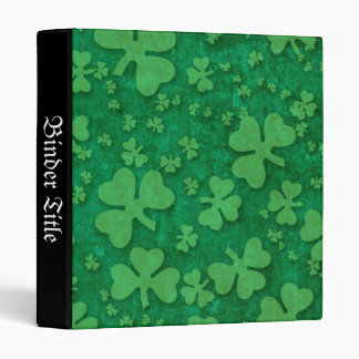 Shamrock Pattern Binder