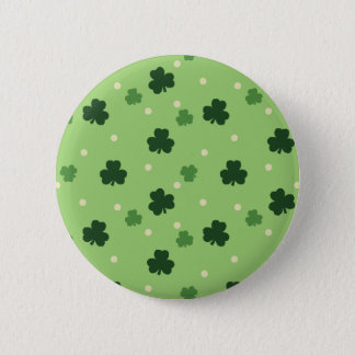 Shamrock Pattern Button