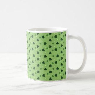 Shamrock Pattern Coffee Mug