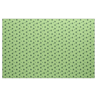 Shamrock Pattern Fabric