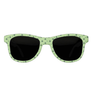 Shamrock Pattern Frame Sunglasses