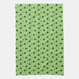 Shamrock Pattern Kitchen Towel
