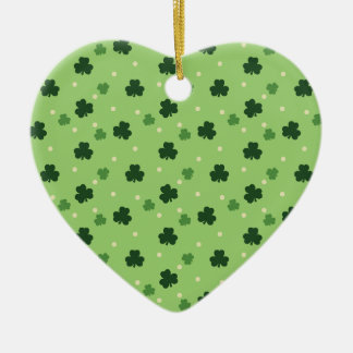 Shamrock Pattern Ornament