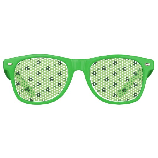 Shamrock Pattern Party Shades